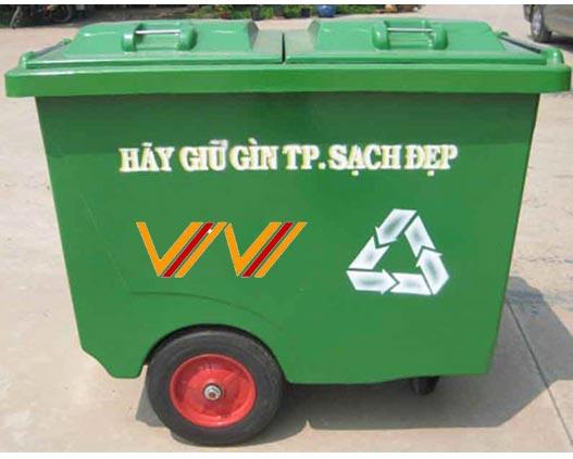 Xe thu gom rác - Composite