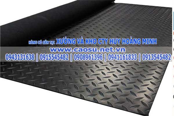 Cao su lót sàn chống trơn trượt | Cao su lót sàn chịu lực | Cuộn cao su lót sàn | Huy Hoàng Minh